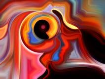 Области внутренней краски Стоковая Фотография RF