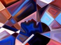 Области внутренней краски Стоковое Фото