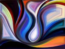 Области краски Стоковые Изображения RF