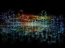 Области потока информации Стоковая Фотография RF