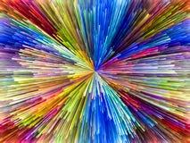 Области цветов Стоковые Изображения RF
