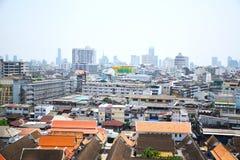 Область городского пейзажа в Бангкоке Таиланда 0124 Стоковая Фотография