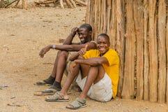 Область Намибии - Opuwo - Kunene Стоковое Изображение