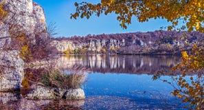 область Украина озера kyiv осени Стоковые Изображения RF