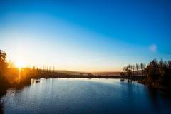 область Украина озера kyiv осени Стоковое Изображение RF