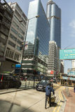 Область Kowloon в Гонконге Стоковое Фото