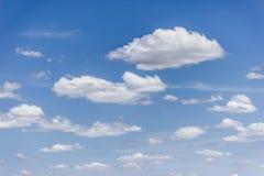 Облачное небо Стоковая Фотография