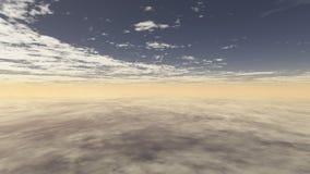 Облачное небо 6 Бесплатная Иллюстрация