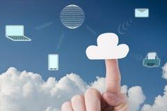 Облачные вычисления Стоковые Фотографии RF