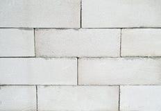 Облегченная текстура блока ячеистого бетона Стоковая Фотография RF