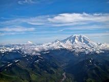 Облицовка Mt Адамс Mt более ненастная Стоковое фото RF