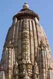 Облицуйте высекаенный висок в Khajuraho, Madhya Pradesh, Индии Стоковое фото RF