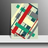 Обложка журнала с частями покрашенной бумаги для Стоковые Фотографии RF