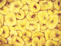 Обломоки банана для предпосылки Стоковые Изображения RF