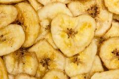 Обломоки банана для предпосылки Стоковое фото RF