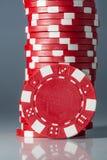 Обломоки играя в азартные игры казино Стоковые Фото