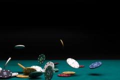 обломоки играя в азартные игры Стоковая Фотография RF
