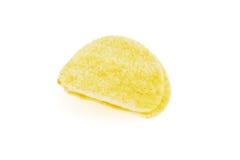 обломоки изолировали белизну картошки Стоковые Фотографии RF