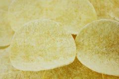 обломоки изолировали белизну картошки Стоковая Фотография
