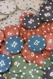 Обломоки покера Стоковые Фотографии RF