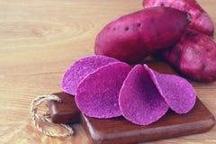 Обломоки сладкого картофеля Стоковое Изображение