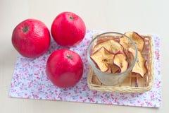 Обломоки Яблока Стоковые Фотографии RF