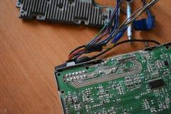 Обломок, микросхема, микросхема, интегральная схемаа Стоковое Фото