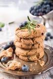 Обломок шоколада и печенья голубик Стоковые Фото