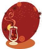 Обдумыванное вино Стоковые Фото