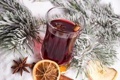 Обдумыванное вино Стоковая Фотография RF