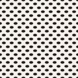 Овальные горизонтальные точки Стоковое Изображение RF
