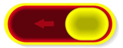 Овальный сползая переключатель Стоковые Фото