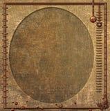Овал Steampunk Стоковые Изображения