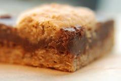 овес fudge печенья Стоковое Изображение