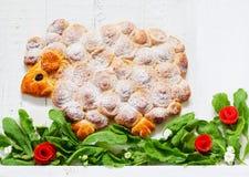 Овечка именниного пирога Стоковая Фотография