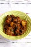 овечка индейца этнической еды карри Стоковая Фотография RF