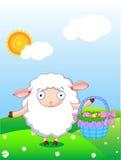 овечка пасхи Стоковая Фотография RF