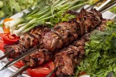Овечка Kebab Стоковые Изображения