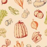 Овощей handdraw эскиза вектора томат или морковь логотипа vegetably для вегетарианцев и ярлыка здоровых натуральных продуктов Стоковое фото RF