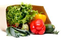 овощи бакалеи мешка полные Стоковое Изображение