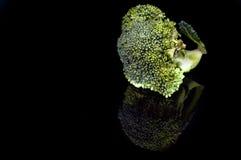 Овощи брокколи брокколи полезны Стоковая Фотография