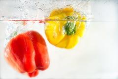 Овощи выплеска Стоковые Изображения RF
