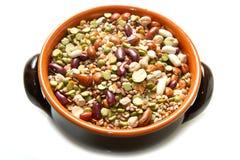 Овощи в баке глиняного кувшина Стоковые Фото