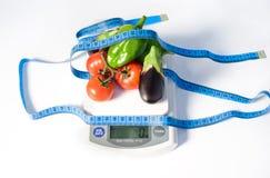 Овощи в балансе стоковые изображения rf