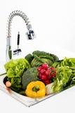 Овощи в кухне Стоковое фото RF