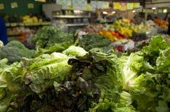 Овощи в рынке Стоковые Фото