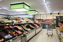 Овощи в супермаркете Стоковое фото RF