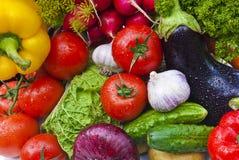 овощи группы Стоковое фото RF