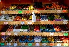 Овощи для продажи Стоковое фото RF