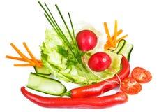 овощи еды предпосылки Стоковая Фотография RF